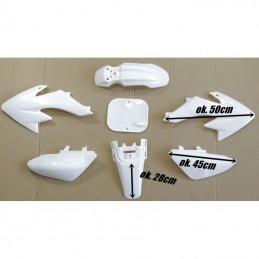 Plastiki CRF70 style MRF - Białe
