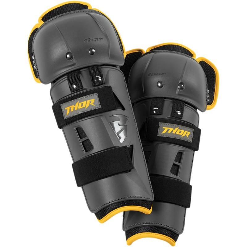 Ochraniacze kolan Thor SECTOR GP CHARCOAL/YELLOW Senior