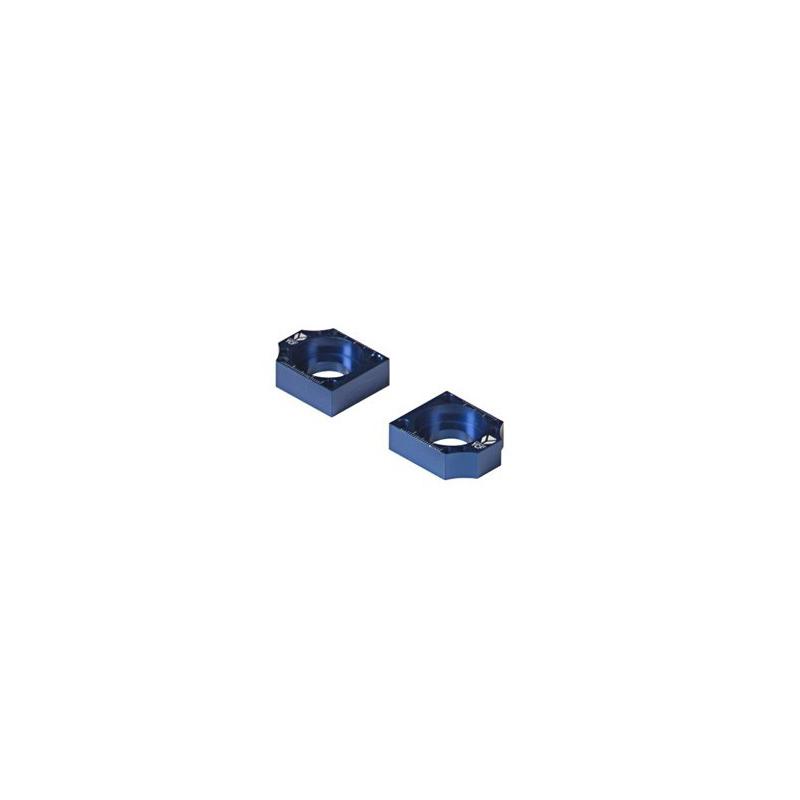 Bloczki napinacza łańcucha na wahacz stalowy YCF - niebieskie