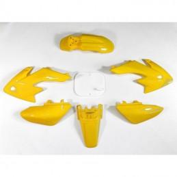 Plastiki CRF50 style żółte MRF