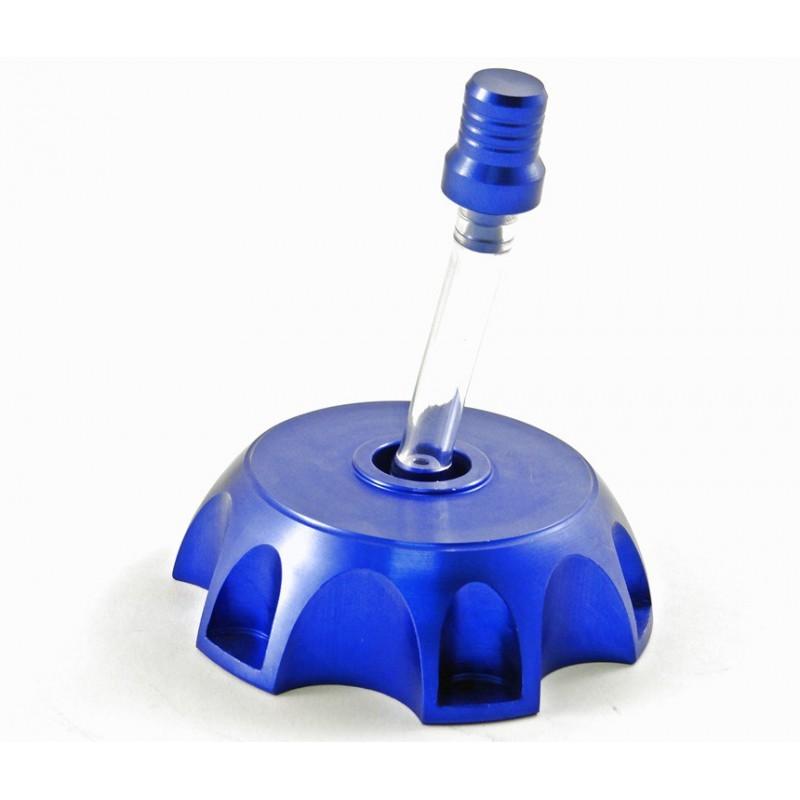 Korek zbiornika paliwa + odpowietrznik (niebieski)
