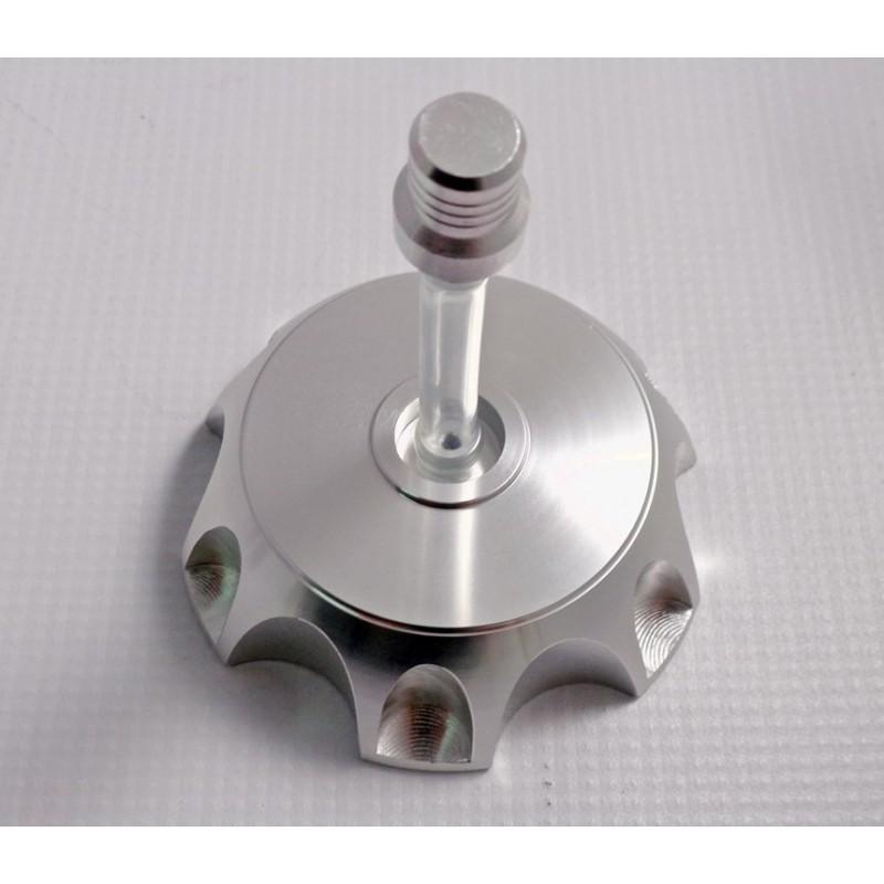 Korek zbiornika paliwa + odpowietrznik (srebrny)