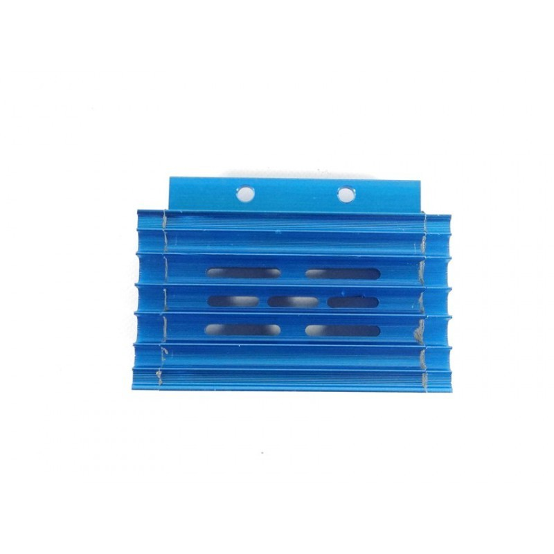 Chłodnica oleju/radiator z przewodami niebieska MRF
