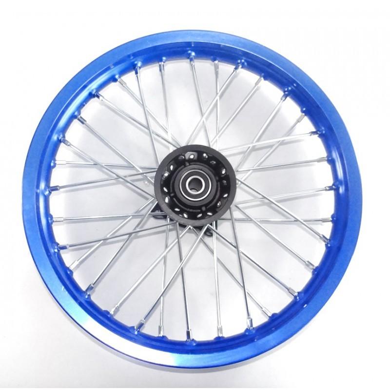 FELGA 14 PRZÓD 1.4x14' /aluminiowa niebieska/