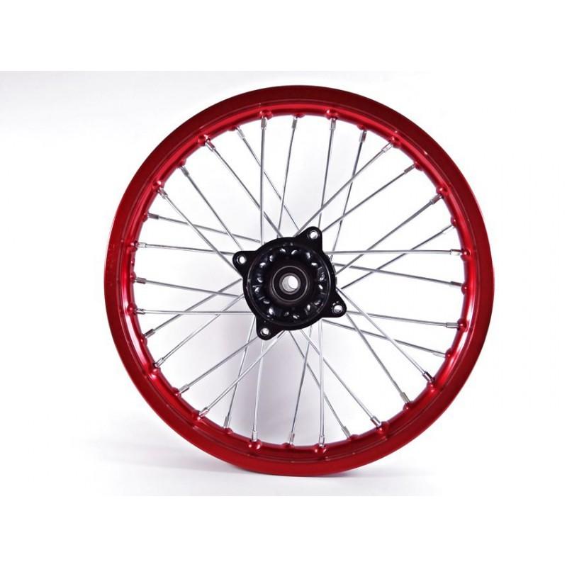 FELGA 14 PRZÓD 1.4x14' /aluminiowa czerwona/