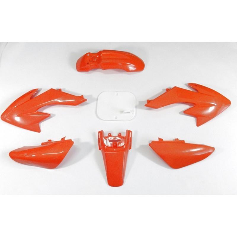 Plastiki CRF50 style MRF - Pomarańczowe