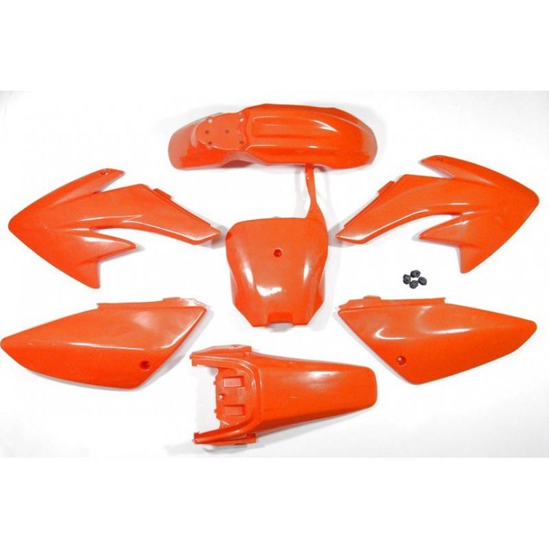 Plastiki CRF70 style MRF - Pomarańczowe