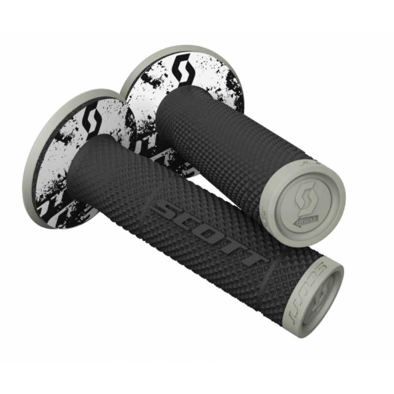 Manetki Scott Grip SXII + Donut Black/Grey