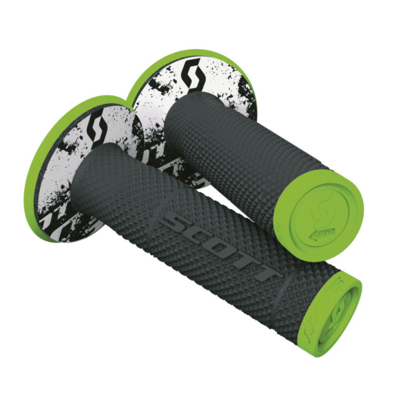 Manetki Scott Grip SXII + Donut Neon Green/Black