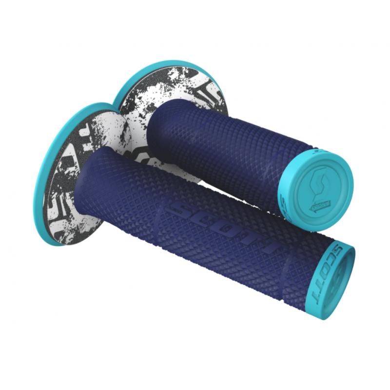 Manetki Scott Grip SXII + Donut Blue/Dark Blue
