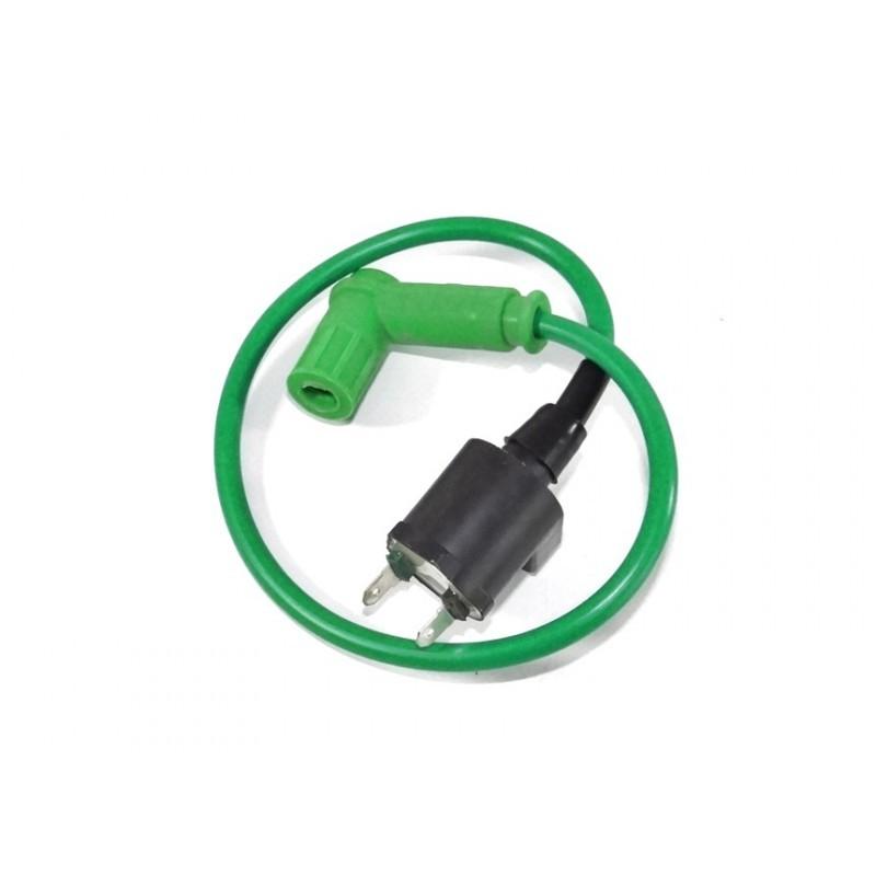 Cewka zapłonowa + fajka High Perforamce MRF - Zielona