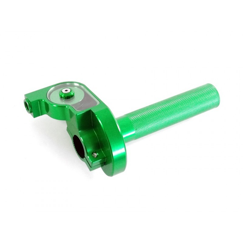 Rolgaz aluminiowy zielony krótki MRF