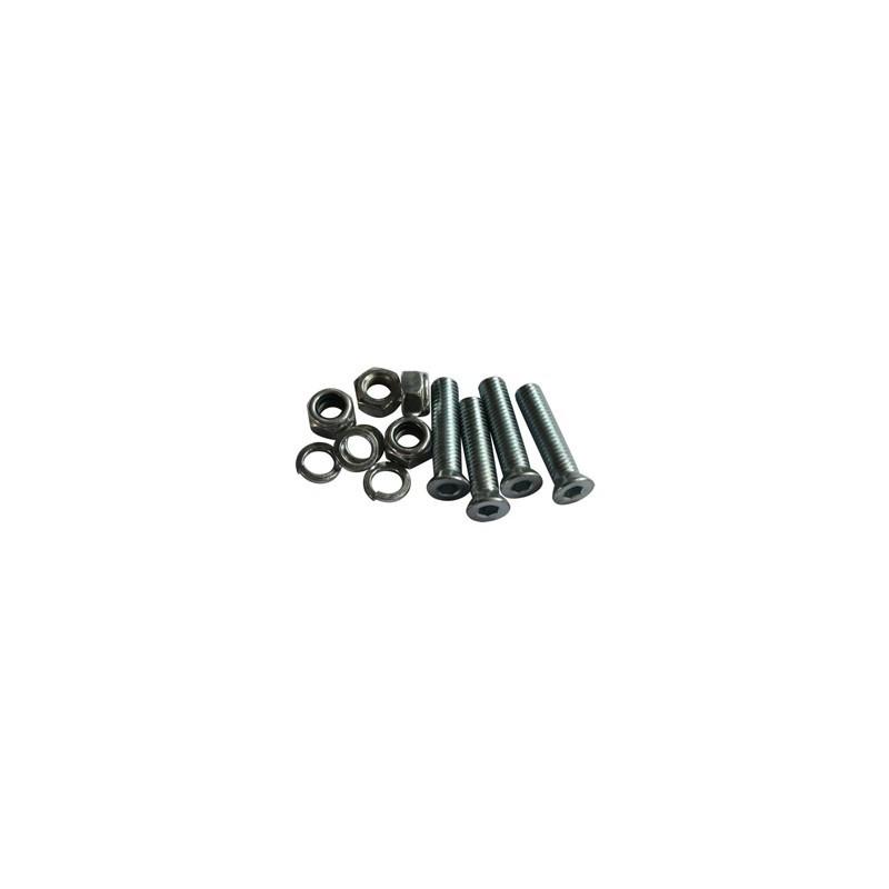 Śruby do montażu zębatki z nakrętkami (4 szt.) YCF