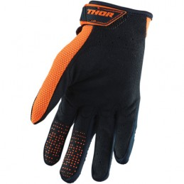 Rękawice THOR S20Y SPECTRUM Midnight/Orange Junior