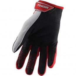 Rękawice THOR S20 SPECTRUM Red/Gray Senior