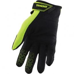 Rękawice THOR S20 SPECTRUM Black/Flo Acid Senior