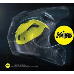 Kask Moose Racing S9 FI Session Black/Hivision MIPS
