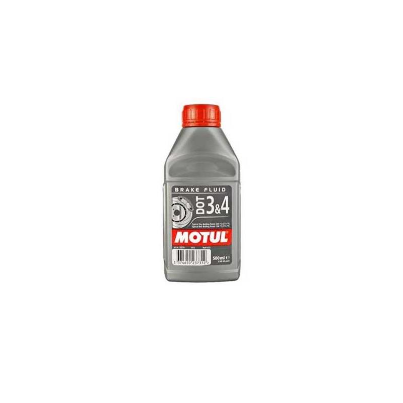 Motul płyn hamulcowy DOT3 & DOT4 0,5L