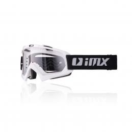 Gogle iMX Racing Mud White...