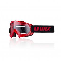 Gogle iMX Racing Mud Red z...