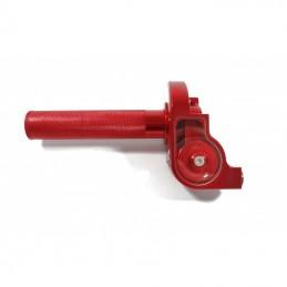 Rolgaz aluminiowy czerwony krótki MRF