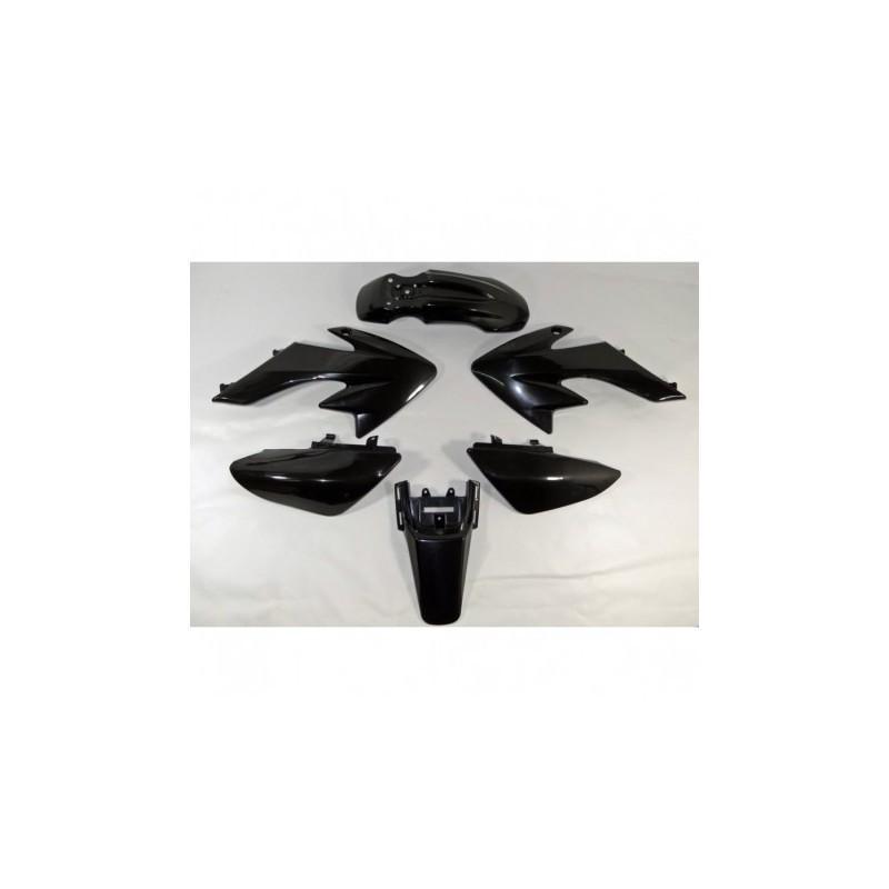 Plastiki CRF50 style czarne MRF