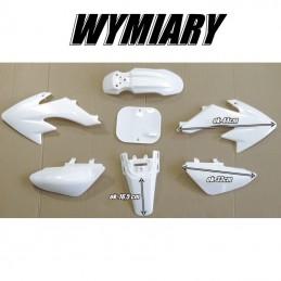 Plastiki CRF50 style białe MRF