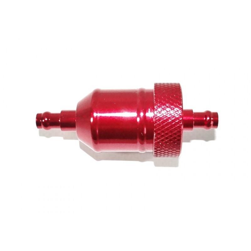 Filtr paliwa CNC czerwony