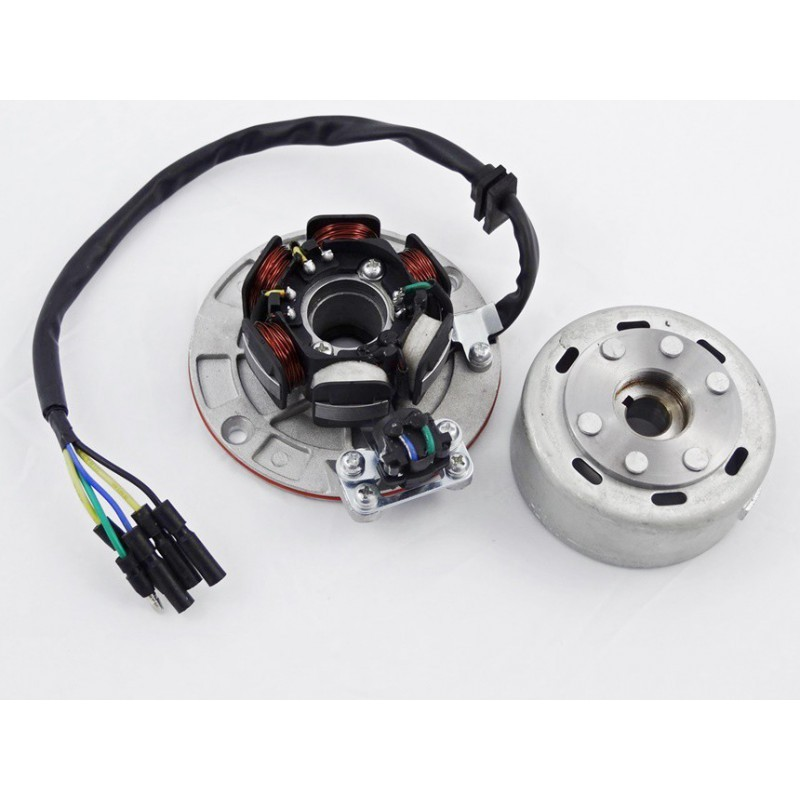 Lekkie magneto i stator 6 cewek MRF Outer Rotor Kit ORK