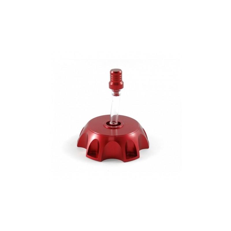 Korek zbiornika paliwa z odpowietrznikiem czerwony MRF